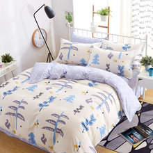 100% cotton super soft Printed Bed set Bedding Quilts Cover