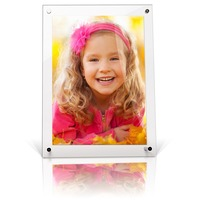Acrylic 8x10 Magnetic Photo Frame Plexiglass Picture Frame