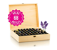 china factory FSC Wooden Essential Oil Storage Box (Holds 10ml Roller Balls and 15ml and 30ml Drams)