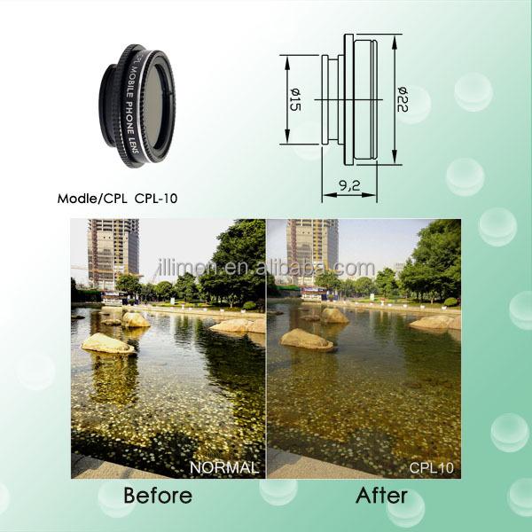 253588d4096 Illimon star 4  6 8 polarized filter for 37mm DSLR CPL lens smartphone