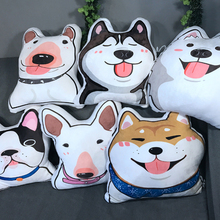 Cute Round Cheap Cotton cushion Plush Emoji Pillows