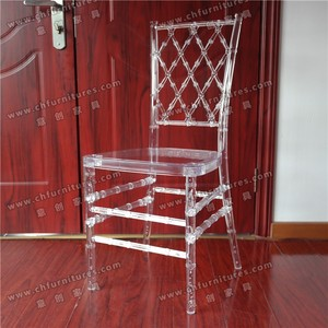 YC-A419 Beautiful Clear Transparent wholesale Resin Chiavari Chair for Event