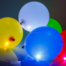 Factory Price 12 Inches Round Shape Biodegradable Led Balloon
