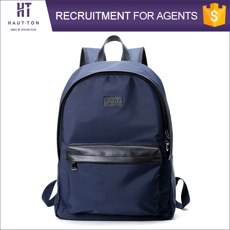 HAUTTON High Quality Man Waterproof Nylon Backpack Bags Best Selling Fashion Men Casual Backpacks