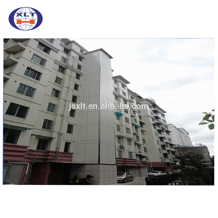 EN 1090 certified Prefab steel beams residential construction steel structure two story building