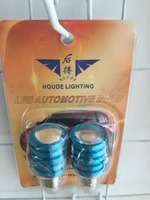 Made in China T10-5050-5L Circuit Wafer Car LED Light Bulb Kinds of Color