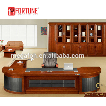 Wonderful Arc Shaped High End CEO Office Table/ Office Furniture Desk (FOHS A3818