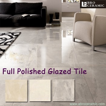 High Gloss 600 X Glazed Polished Porcelain Ceramic Floor Tiles