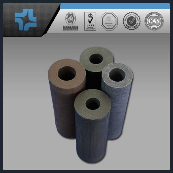 factory carbon filled black chemical industry PTFE pipeline tube
