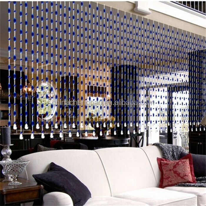crystal glass door bead curtains for home decor