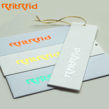 High Quality Wholesale Uhf Rfid Custom Printable Clothing Rfid Paper Hang Tag Label For Clothes Inventory Security Management Buy Rfid Clothing Hang