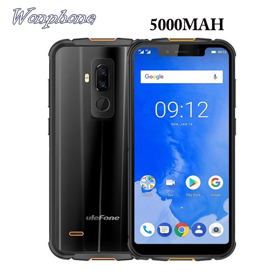 """Ulefone Armor 5 IP68 Waterproof Mobile Phone 5.85 HD+ Octa Core 4GB+64GB Android 8.1 NFC Face ID Wireless Charge 4G Smartphone"""""""