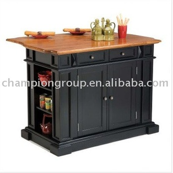 Cp-6908 Rubber Wood Buffet,Kitchen Storage,Kitchen Table - Buy Small  Kitchen Furniture,Wooden Kitchen Tables,Oak Top Buffet Product on  Alibaba.com