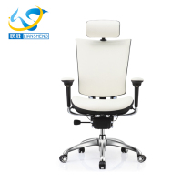 Ergonomic white Mesh/leather Executive Swivel And Tilt Office Chair