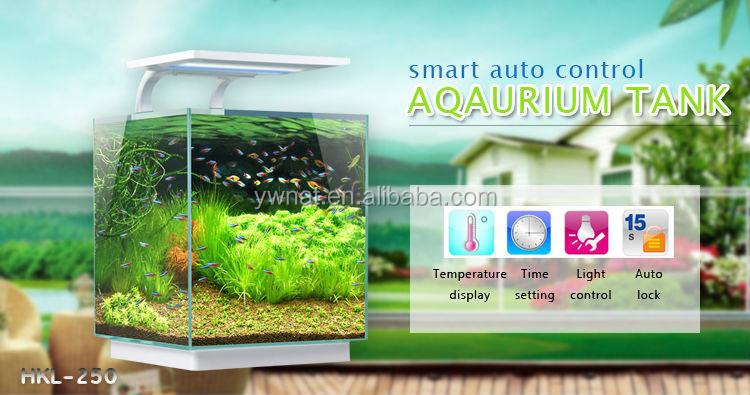Smart Glass Fish Tank Aquarium