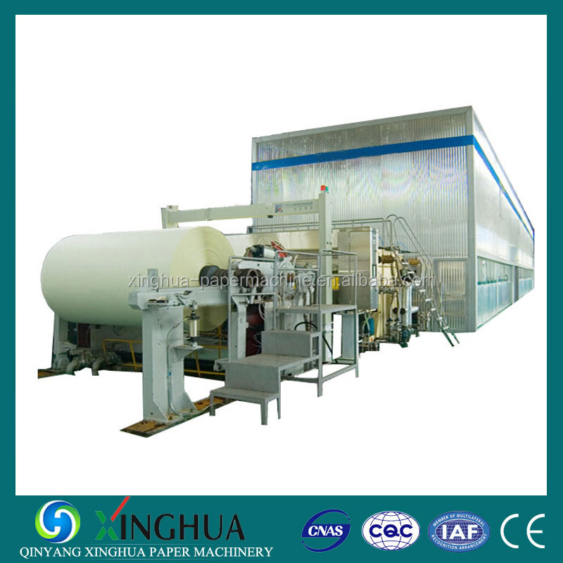 Professional manufacturer supply toilet tissue paper making machine industrial roll toilet tissue machine