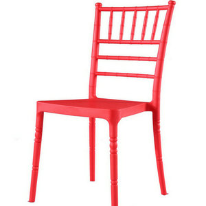 Beautiful and colorful living room chair ALL PP stackable dining chair