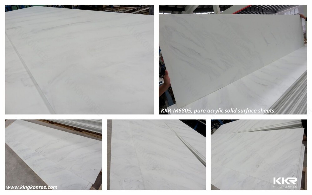 Solid Surface Wall Cladding : Mm solid surface sheet shower wall panels view