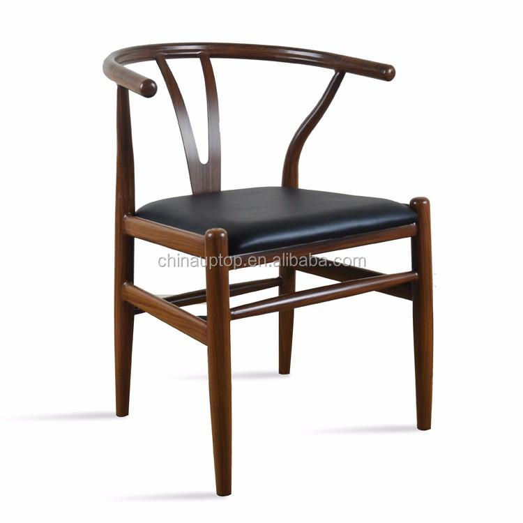 replica hans wegner wishbone dinning chair american ash wood y chair