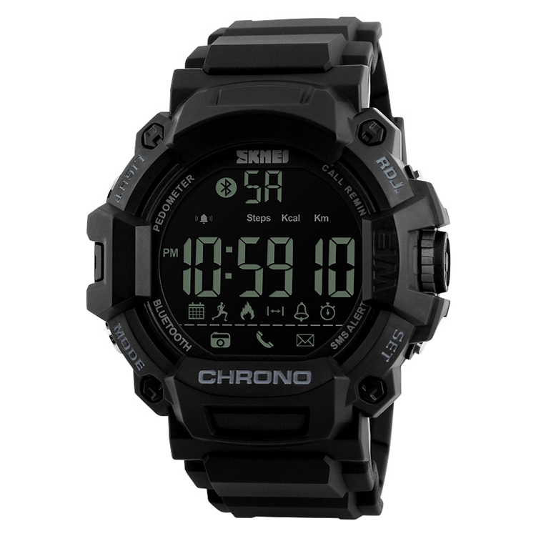 China smart watch new style digital watch relojes hombre man watch 1249, Black /customized can be available