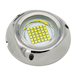 108 watt waterproof ip68 led underwater submarine barcos flood inundacion boat light led yacht light yate luz