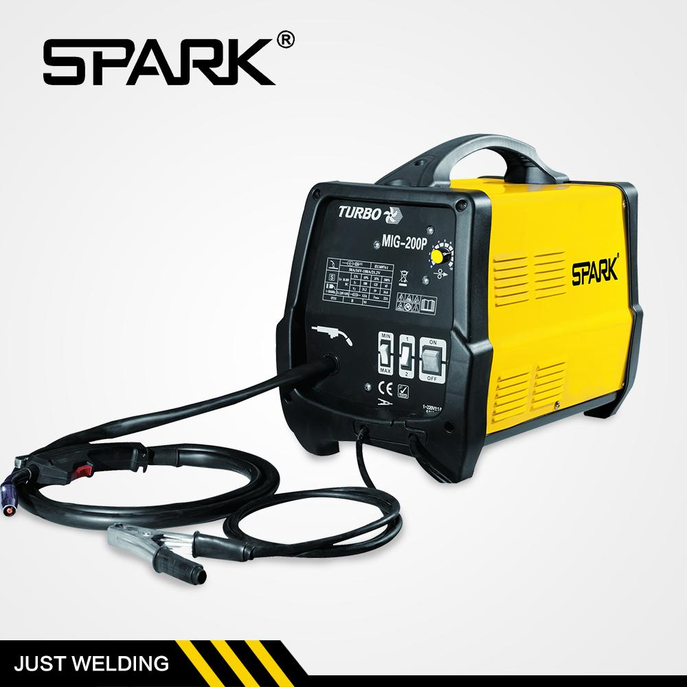High quality mig-200 mig/mag 200 automatic double pulse igbt inverter co2 mig mag welding machine