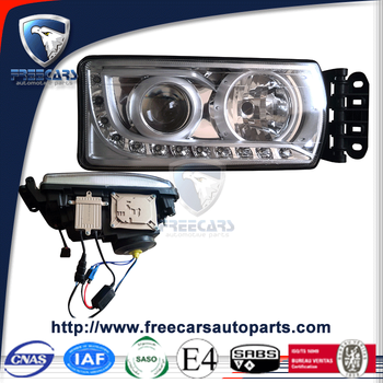truck auto lamp for new stralis headlight with xenon with daytime running lamp