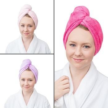Custom Hair Towel Twist Wrap Walmart Absorbent - Buy Hair Towel ... 16ca284bf7f