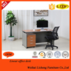 Office paperboard desk office desk with file cabinet assembly furniture