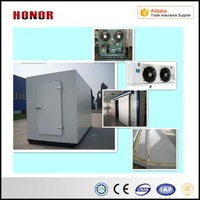 The Vacuum Cold Storage Room Container Of Fruits And Vegetables For Food Freezing