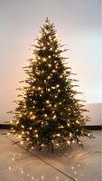 Prelit Pvc Artifical Christmas Tree With Led Lights
