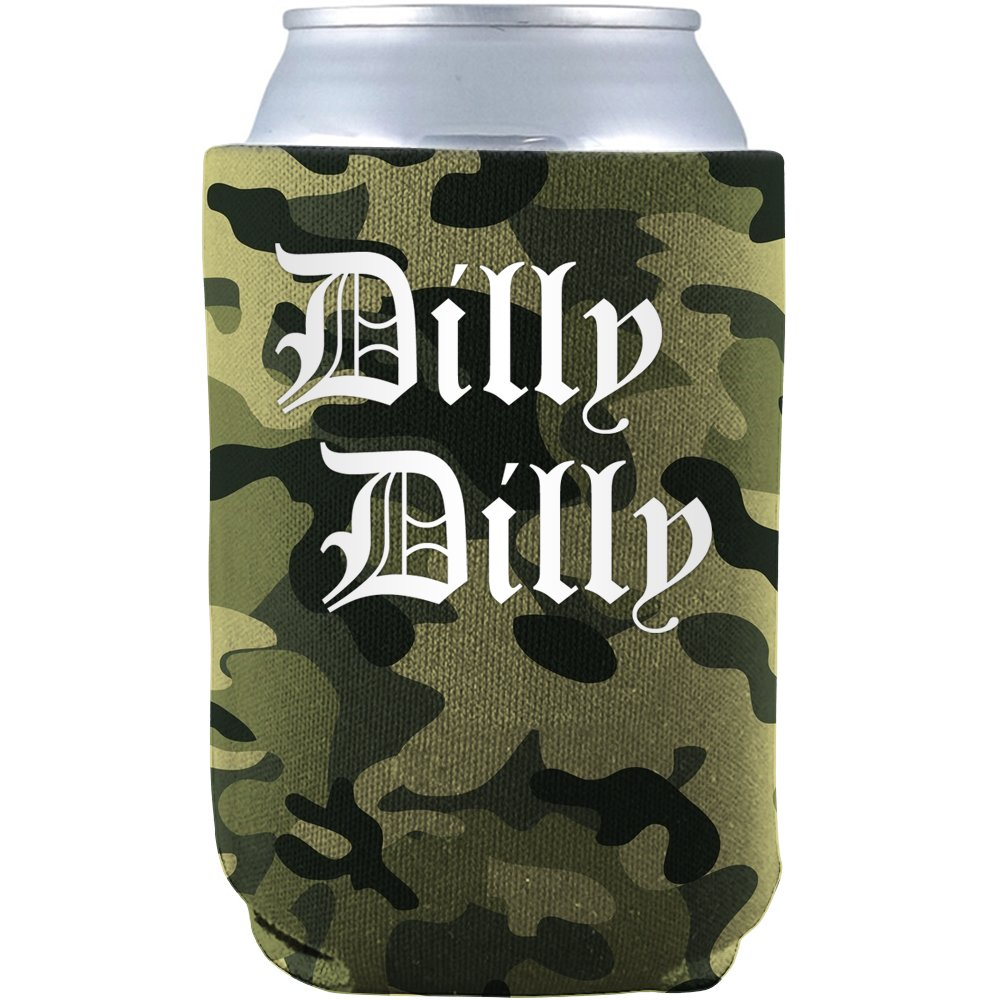 Dilly Dilly Ultimate Beer Can Glass Cooler Koozie & Sticker