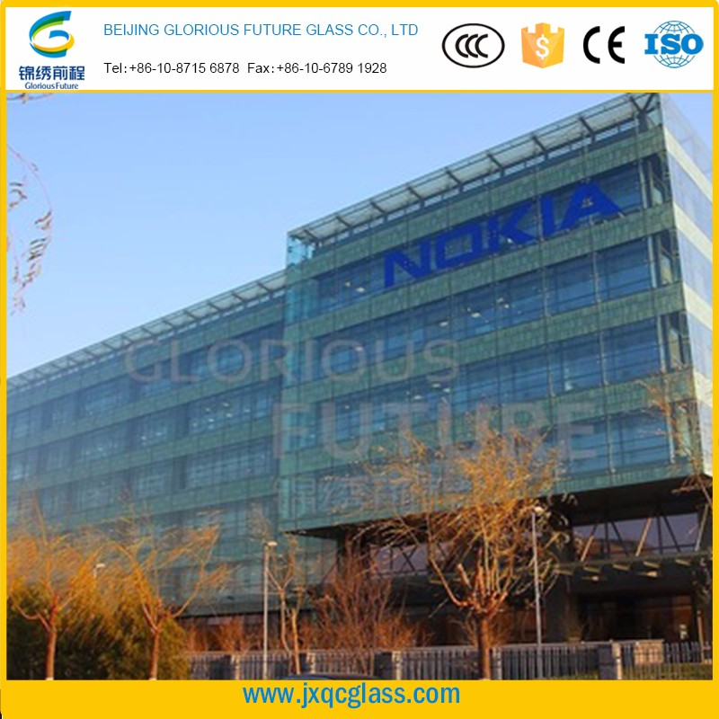 High performance large point support curtain wall stalinite 19mm buidling glass guaranteed quality