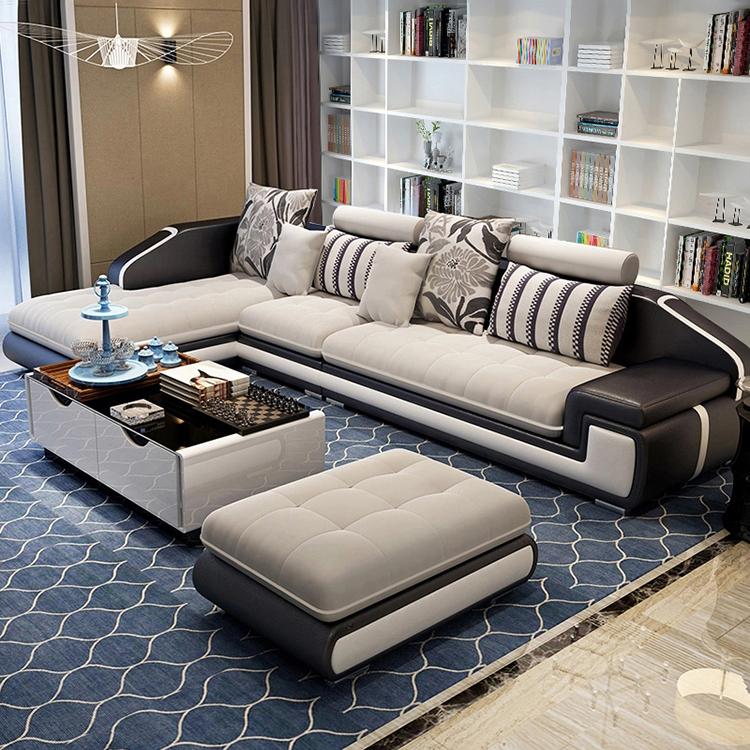 Luxury Home Sofa Set Living Room Furniture Modern