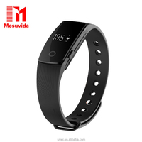[Genuine] ID107 Smart Band Bracelet Smart Watch with Heart Rate Monitor Pedometer Remote Camera Function
