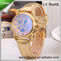 Hottest women new watch designs ,movt inside machinery no battery automatic watch