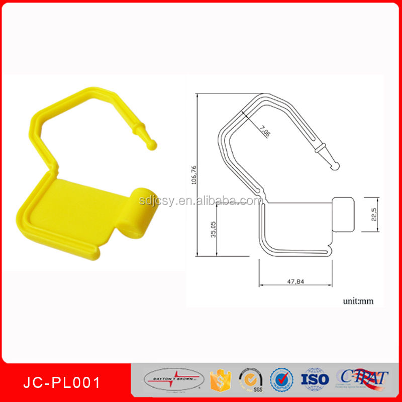 Plastic Mini Numbered Printed Padlock Seal JCPL001