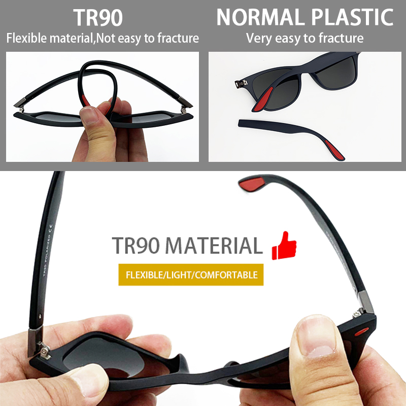 Fuqian custom square aviator sunglasses mens factory for running-5