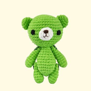 Großhandel Weichen Baby Spielzeug Angefüllte Gestrickte Teddybär