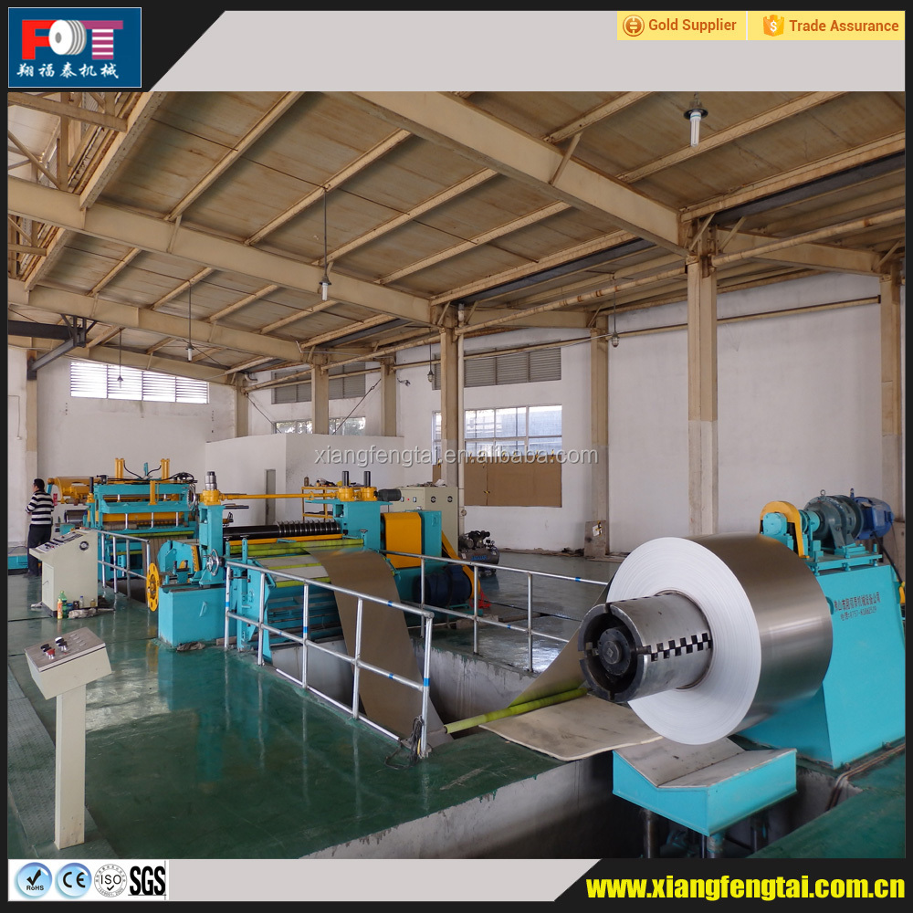 FOT Metal Steel Slitting Machine,Slitting Line,Metal Sheet Cutting Machine