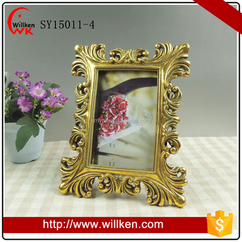 Gold Antique Frames Ornate Baroque Picture Frames 4x6 Wholesale