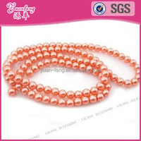 china bead manufacturers wholesale coloured glass imitation pearls beads children necklace