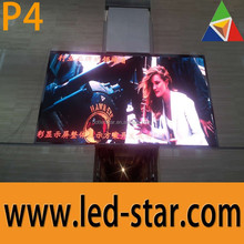 Indoor P4 led screen rental business vivider and clearer images for Middle-east