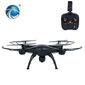 2.4G wind resistance 360 degree roll rc drone with camera screen