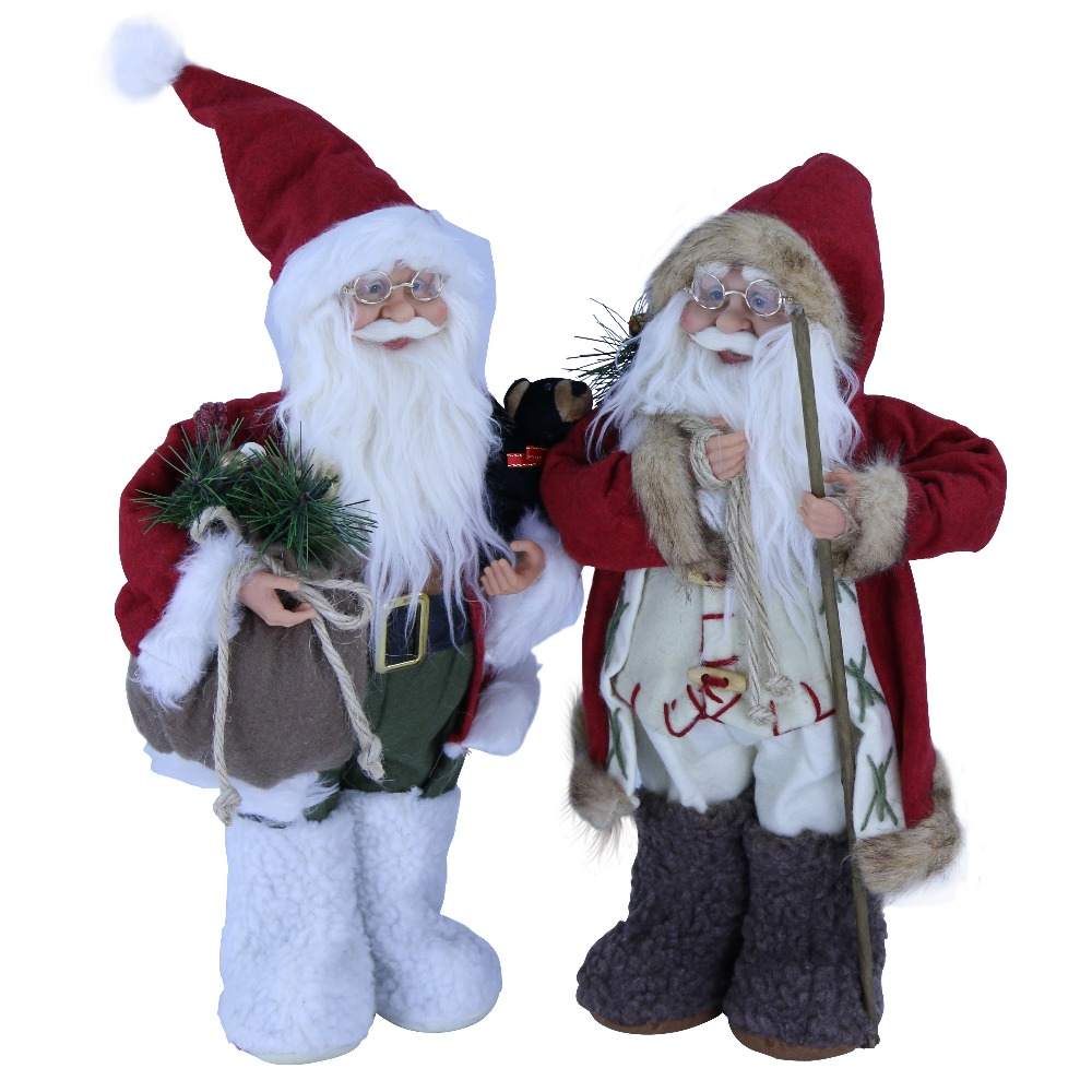 Factory Wholesale Father Christmas Toys for Christmas Decor