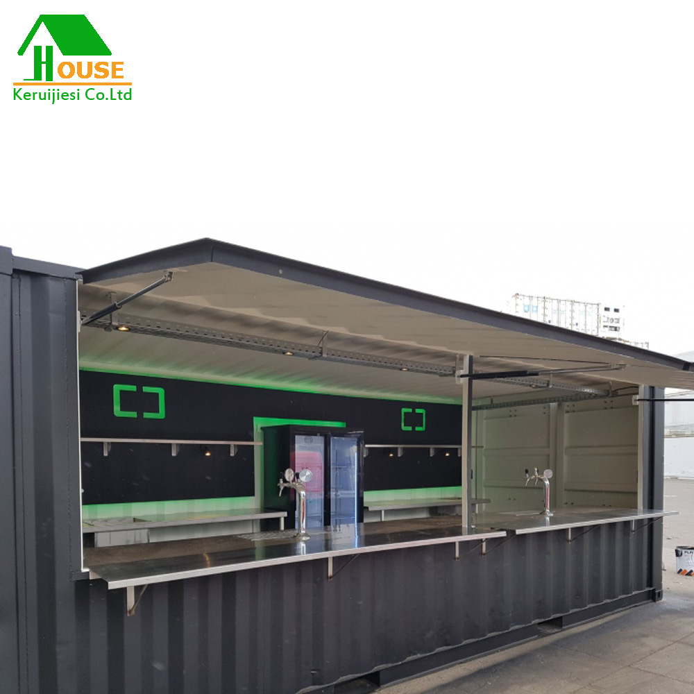 20ft Shipping Container Bar Design Container Cafe Shop
