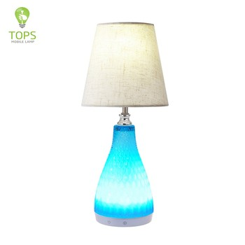 Tops Lighting Infrared Led Home Decorative Rechargeable Cordless Table Lamp  Made In China