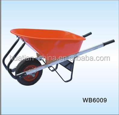 100L metal tray wheel barrow WB6009