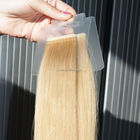Straight hair for 100% human hair tape extension