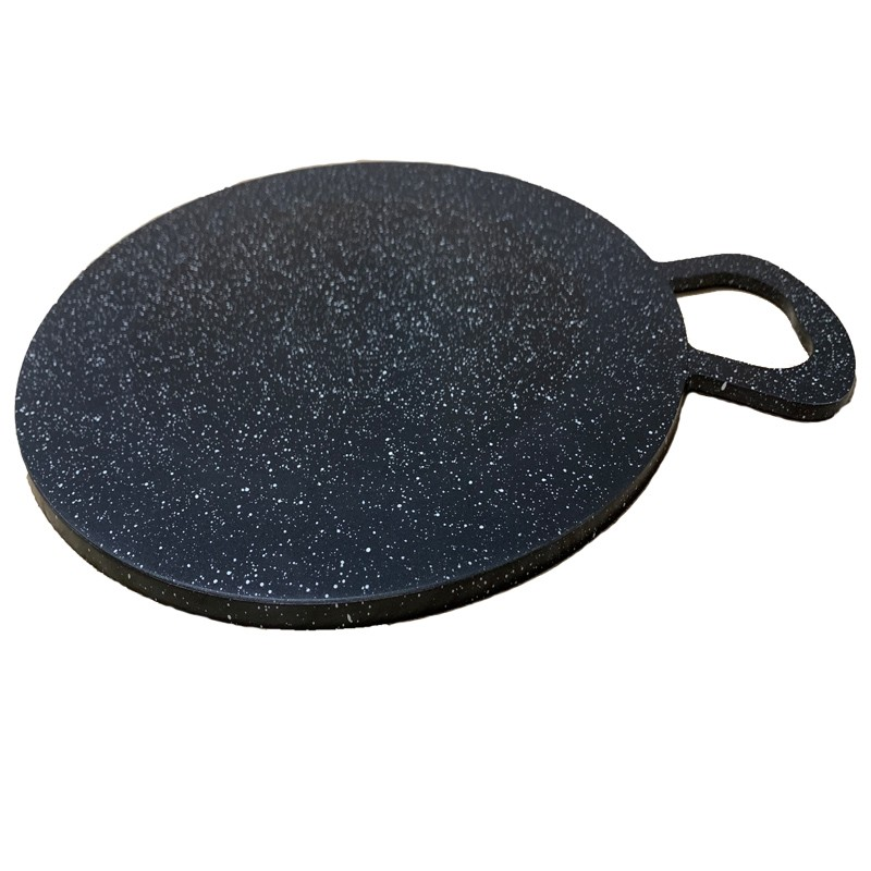 Portable Non-Stick Marble Coating Crepe/Tawa, Datar Pie Pan